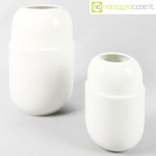 Ceramiche Munari coppia vasi bianchi
