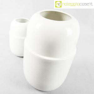 Ceramiche Munari, coppia di vasi bianchi (3)