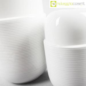 Ceramiche Munari, coppia di vasi bianchi (5)