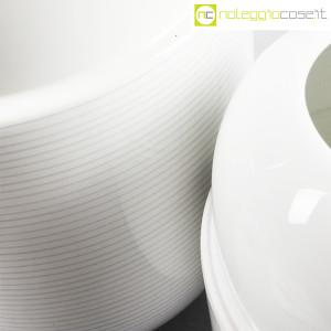 Ceramiche Munari, coppia di vasi bianchi (7)