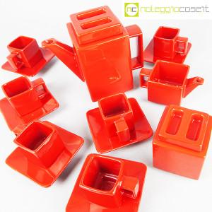 Montecatini Ceramiche, servizio in ceramica smaltata rosso (4)