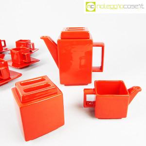 Montecatini Ceramiche, servizio in ceramica smaltata rosso (5)