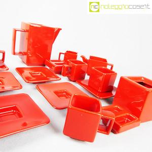 Montecatini Ceramiche, servizio in ceramica smaltata rosso (7)
