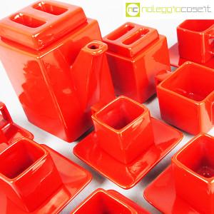 Montecatini Ceramiche, servizio in ceramica smaltata rosso (8)