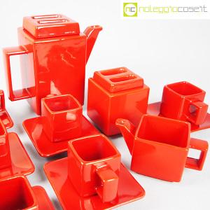 Montecatini Ceramiche, servizio in ceramica smaltata rosso (9)