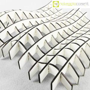 Noleggiocose, struttura free form in legno bianco, Gabriella Mastrangelo (6)