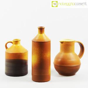 Ceramiche Bucci, brocca, bottiglia e versatoio, Franco Bucci (1)