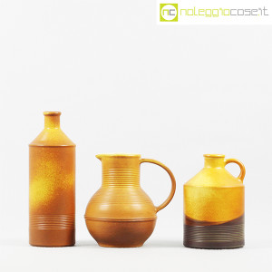 Ceramiche Bucci, brocca, bottiglia e versatoio, Franco Bucci (2)