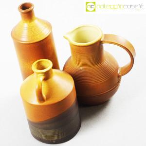 Ceramiche Bucci, brocca, bottiglia e versatoio, Franco Bucci (4)