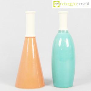 Ceramiche Bucci, coppia bottiglie per Biesse, Franco Bucci (1)