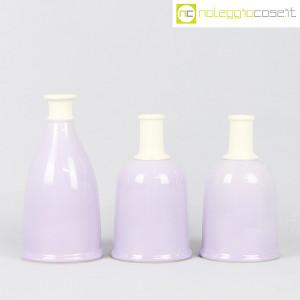 Ceramiche Bucci, set bottiglie lilla, Franco Bucci (2)