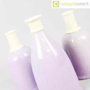 Ceramiche Bucci, set bottiglie lilla, Franco Bucci (6)