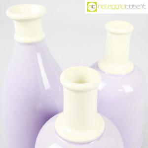 Ceramiche Bucci, set bottiglie lilla, Franco Bucci (7)