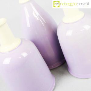 Ceramiche Bucci, set bottiglie lilla, Franco Bucci (8)
