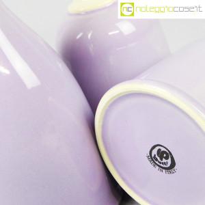 Ceramiche Bucci, set bottiglie lilla, Franco Bucci (9)