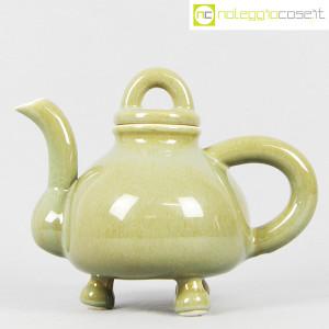 Ceramiche Bucci, teiera verde, Franco Bucci (1)