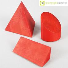 Forme geometriche in legno set 01