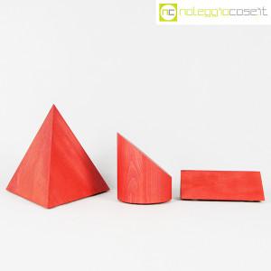 Forme geometriche in legno set 01 (rosso) (2)
