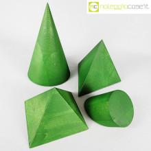 Forme geometriche in legno set 02