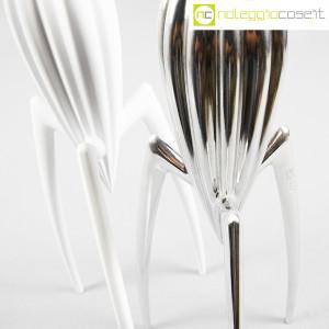 Alessi, spremiagrumi Juicy Salif cromo e bianco, Philippe Starck (6)