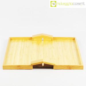Alessi, vassoio in bambù Quattro muri e due case MDL01, Michele De Lucchi (2)