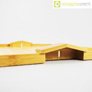 Alessi, vassoio in bambù Quattro muri e due case MDL01, Michele De Lucchi (4)