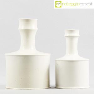 Ceramiche Bucci, coppia vasi bianchi, Franco Bucci (2)