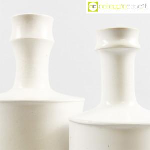 Ceramiche Bucci, coppia vasi bianchi, Franco Bucci (6)