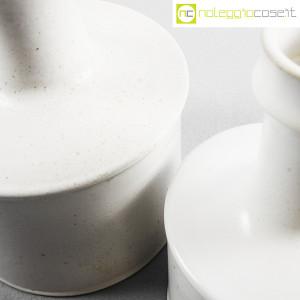 Ceramiche Bucci, coppia vasi bianchi, Franco Bucci (8)