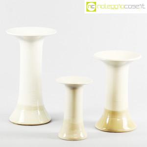 Ceramiche Bucci, tris di vasi a colonna, Franco Bucci (1)
