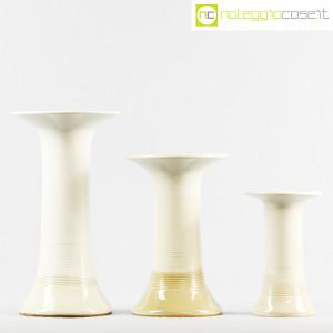 Ceramiche Bucci, tris di vasi a colonna, Franco Bucci (2)