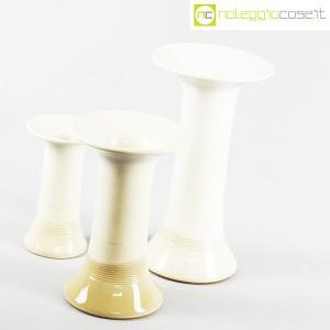 Ceramiche Bucci, tris di vasi a colonna, Franco Bucci (3)