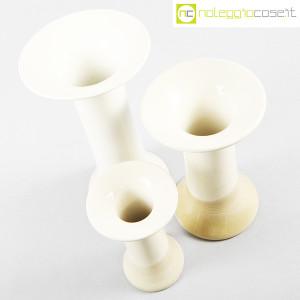 Ceramiche Bucci, tris di vasi a colonna, Franco Bucci (4)