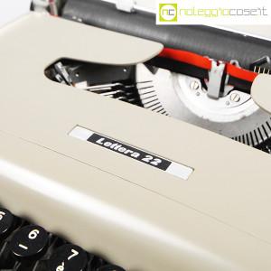 Olivetti, macchina da scrivere Lettera 22 grigio sabbia, Marcello Nizzoli (5)