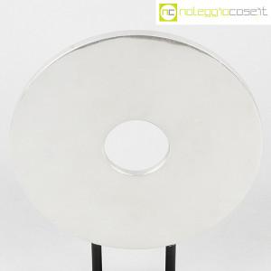 Scultura disco in metallo con base (5)