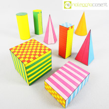 Solidi didattici in carta colorata