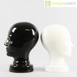 Teste in ceramica nero e bianco (2)