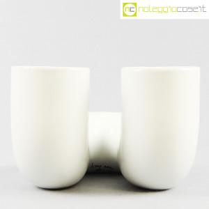 Vaso bianco a tubo piegato (5)