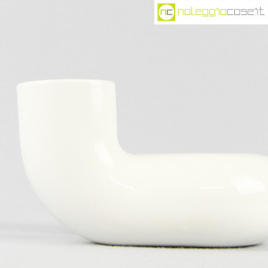 Vaso bianco a tubo piegato (6)