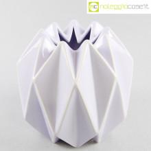 Vaso geometrico a spicchi lilla