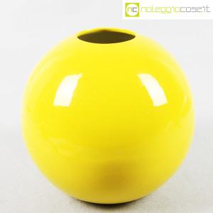 Zanolli & Sebellin, vaso sfera giallo (1)