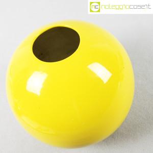 Zanolli & Sebellin, vaso sfera giallo (3)