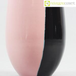 Deruta Ceramiche, vaso rosa e nero (8)