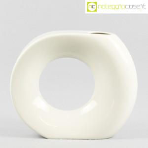 Vaso bianco grande con foro (2)
