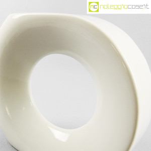 Vaso bianco grande con foro (5)