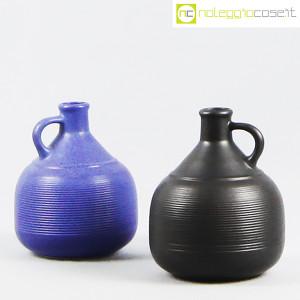 Ceramiche Bucci, coppia brocche con manico, Franco Bucci (1)