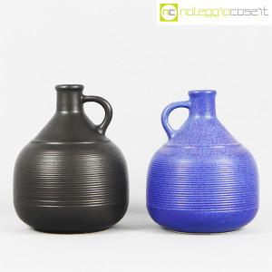 Ceramiche Bucci, coppia brocche con manico, Franco Bucci (2)