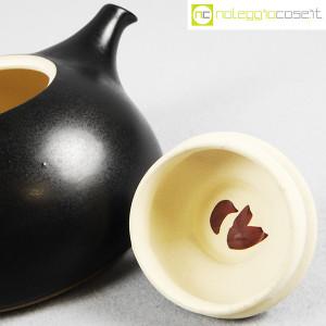 Ceramiche Bucci, teiera nera, Franco Bucci (9)