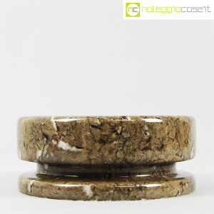 Knoll, posacenere mod. 8532 grigio sabbia, Angelo Mangiarotti (2)
