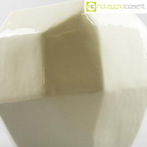Vaso bianco sfaccettato grande (9)